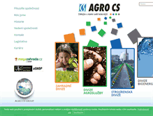 Tablet Preview of agrocs.cz